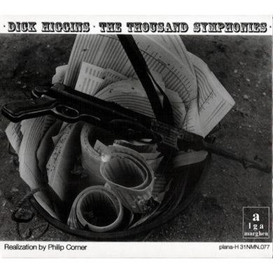 Dick Higgins THOUSAND SYMPHONIES CD