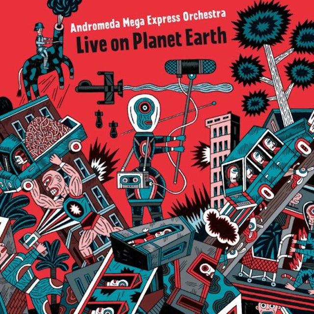 Andromeda Mega Express Orchestra LIVE ON PLANET EARTH Vinyl Record