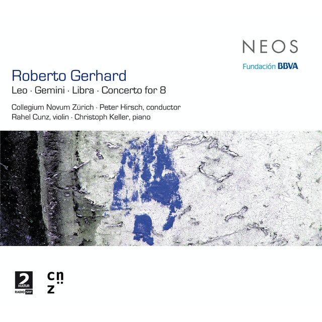 Roberto Gerhard LEO/GEMINI/LIBRA/CONCERTO FOR 8 CD