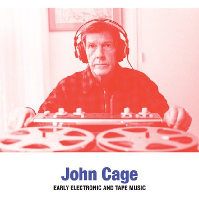 John Cage EARLY ELECTRONIC AND TAPE MUSIC Vinyl Record