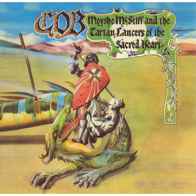 Cob MOYSHE MCSTIFF & THE TARTAN LANCERS OF THE SACRED Vinyl Record
