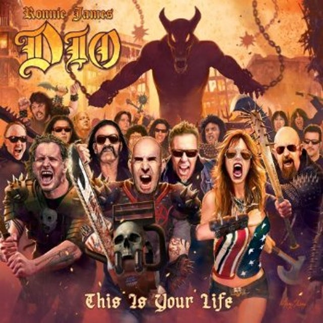Ronnie James Dio: A Tribute To - This Is Your Life CD