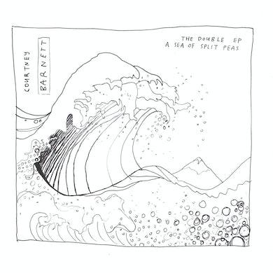 Courtney Barnett DOUBLE EP: A SEA OF SPLIT PEAS CD