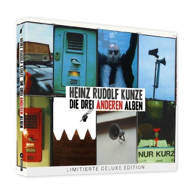 Heinz Rudolf Kunze DIE DREI ANDEREN ALBEN CD