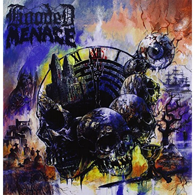 Hooded Menace LABYRINTH OF CARRION BREEZE Vinyl Record - UK Release