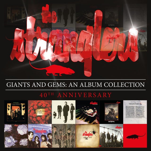 Stranglers GIANTS & GEMS: AN ALBUM COLLECTION CD