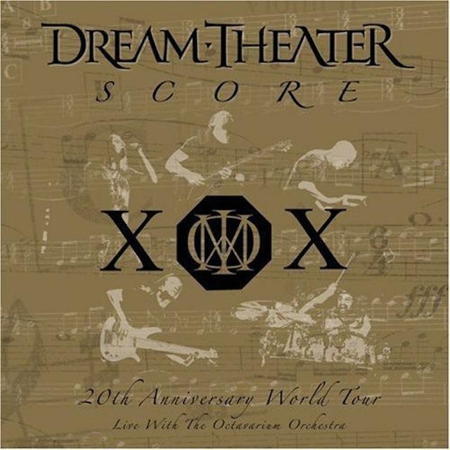 Dream Theater SCORE 20TH ANNIVERSARY WORLD TOUR Vinyl Record