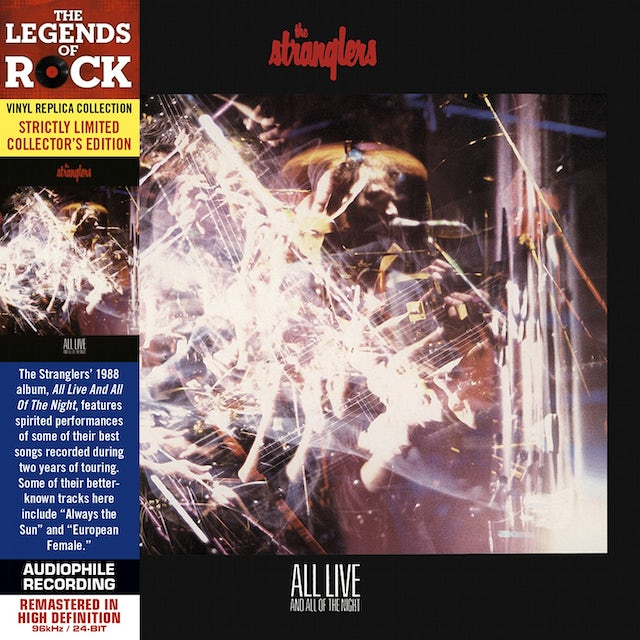 Stranglers ALL LIVE & ALL OF THE NIGHT CD