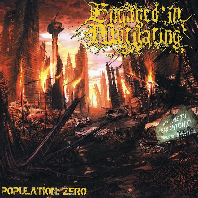 Engaged in Mutilating POPULATION: ZERO CD
