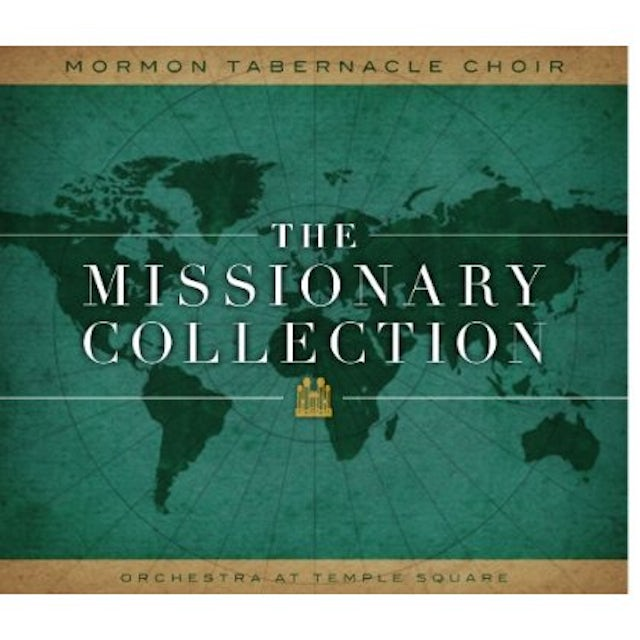 Mormon Tabernacle Choir MISSIONARY COLLECTION CD