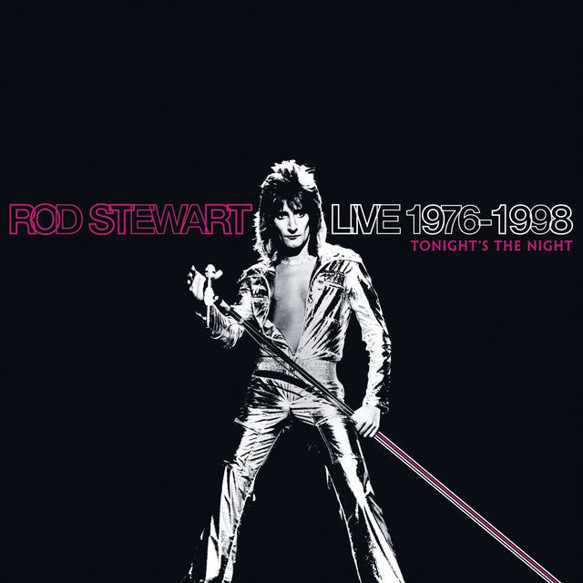 Rod Stewart LIVE 1975-1998: TONIGHT'S THE NIGHT CD