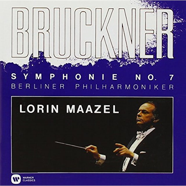 Lorin Maazel BRUCKNER: SYMPHONY NO.7 IN E MAJOR CD