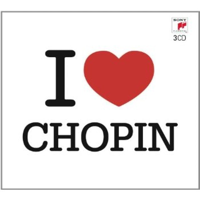 Frederic Chopin I LOVE CHOPIN CD