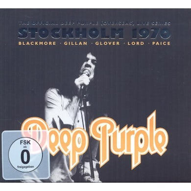 Deep Purple STOCKHOLM 1970 CD