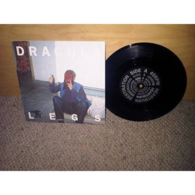 Dracula Legs HEARTBURN DESTINATION Vinyl Record