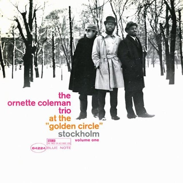Ornette Coleman AT THE GOLDEN CIRCLE STOCKHOLM 1 Vinyl Record
