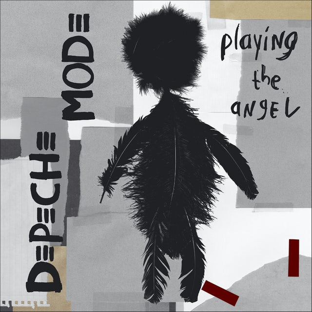 Depeche Mode PLAYING THE ANGEL Vinyl Record - 180 Gram Pressing