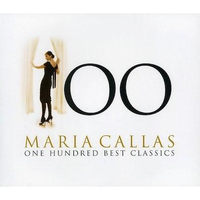 MARIA CALLAS: 100 BEST CLASSICS CD