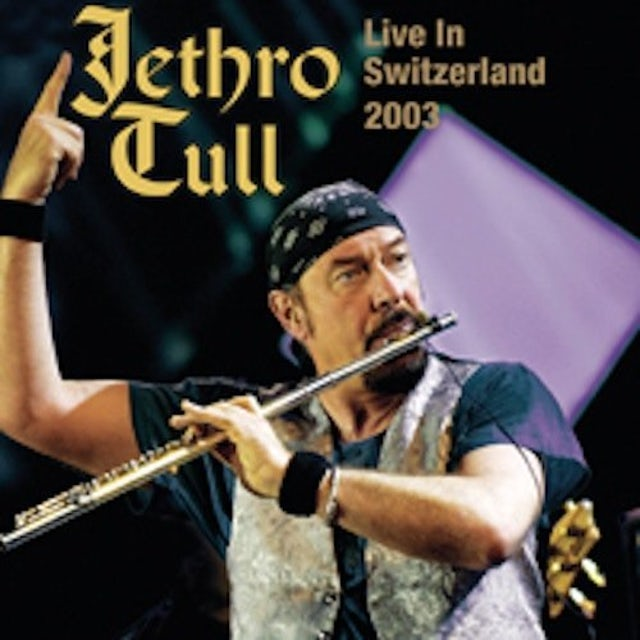 Jethro Tull LIVE IN SWITZERLAND 2003 Vinyl Record - UK Release