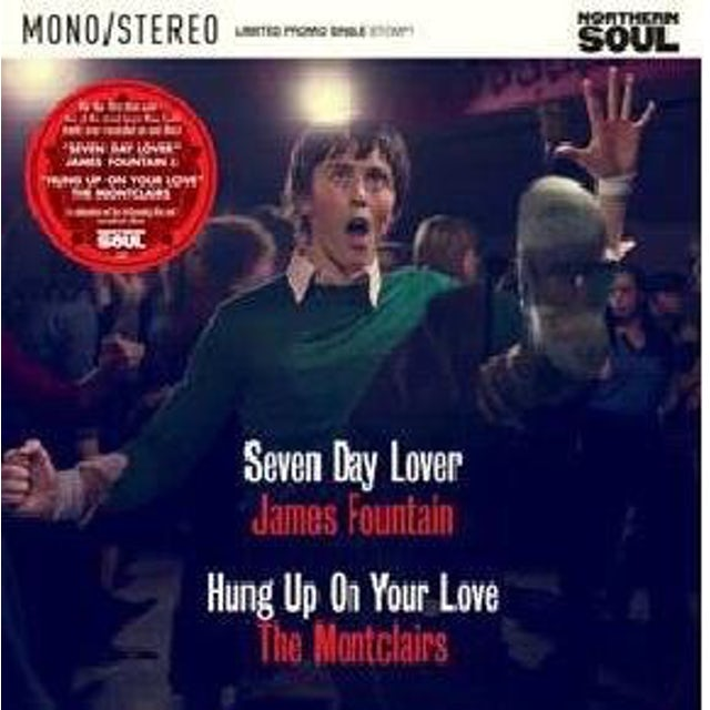 The Montclairs/James Fountain NORTHERN SOUL FILM 7-INCH Vinyl Record
