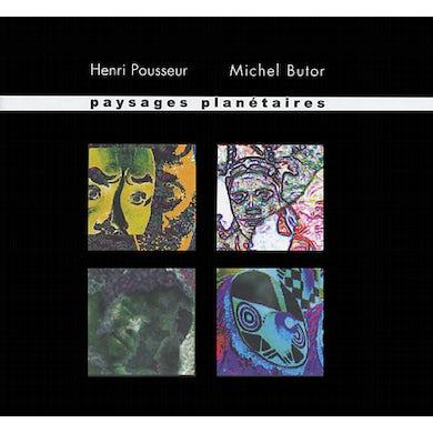 Henri Pousseur PAYSAGES PLANETAIRES CD