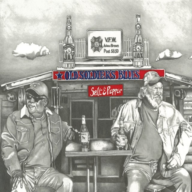 Salt & Pepper OLD SOLDIERS BLUES CD