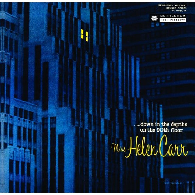 Helen Carr DOWN IN THE DEPTHS OF THE 90TH FLOOR Vinyl Record