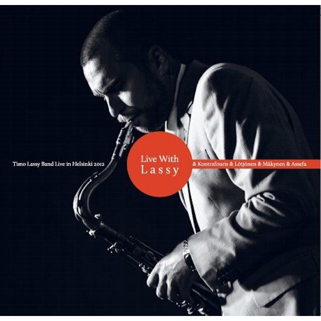 Timo Lassy LIVE WITH LASSY Vinyl Record