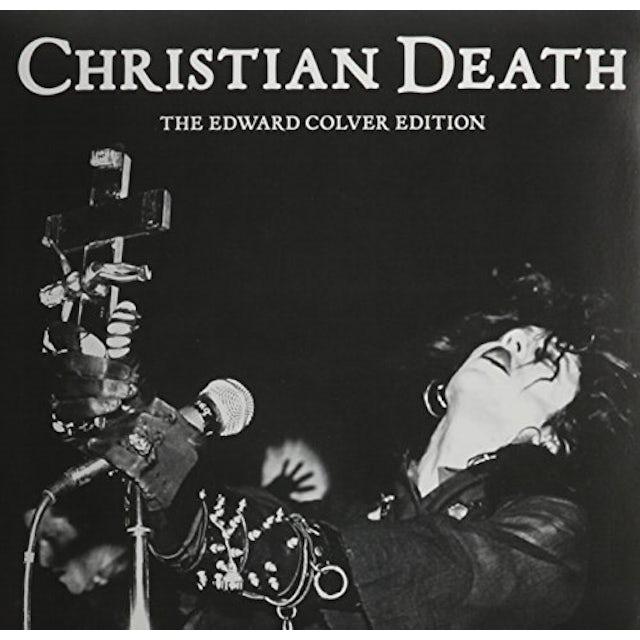Christian Death EDWARD COLVER EDITION Vinyl Record