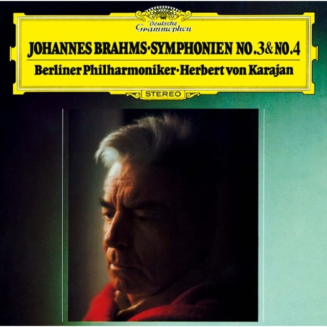 Herbert Von Karajan BRAHMS: SYMPHONY NO.3 & NO.4 CD