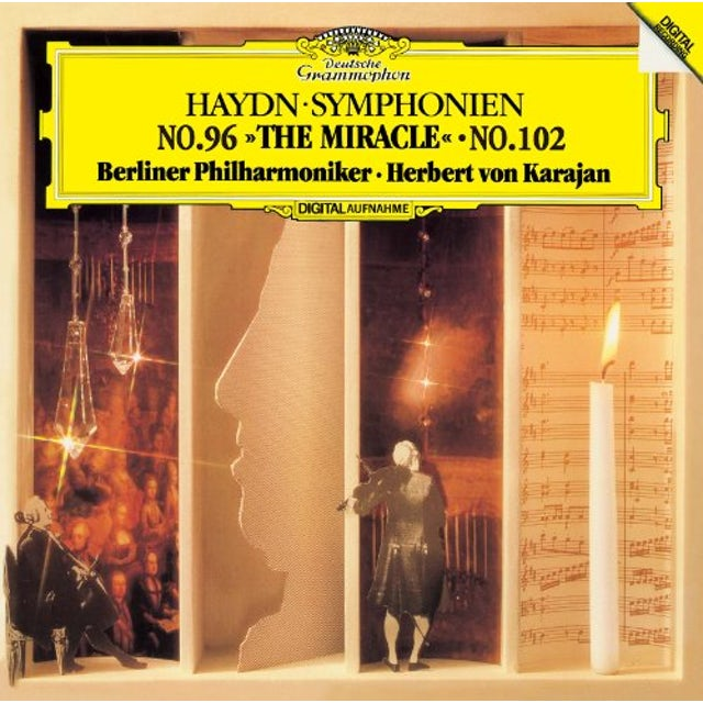 Herbert Von Karajan HAYDN: SYMPHONY NO.96 & NO.102 CD