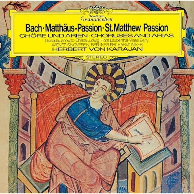Herbert Von Karajan J.S.BACH: MATTHAUS-PASSION (EXCERPT) CD