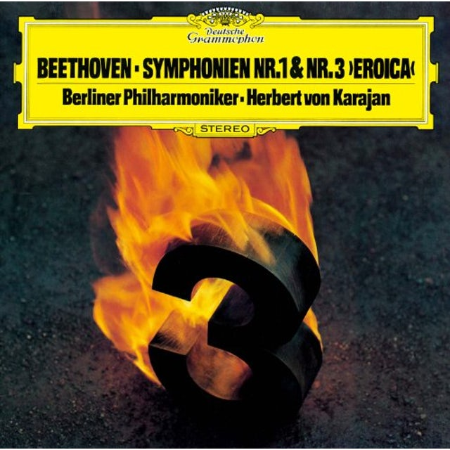Herbert Von Karajan BEETHOVEN: SYMPHONY NO.1 & NO.3 CD