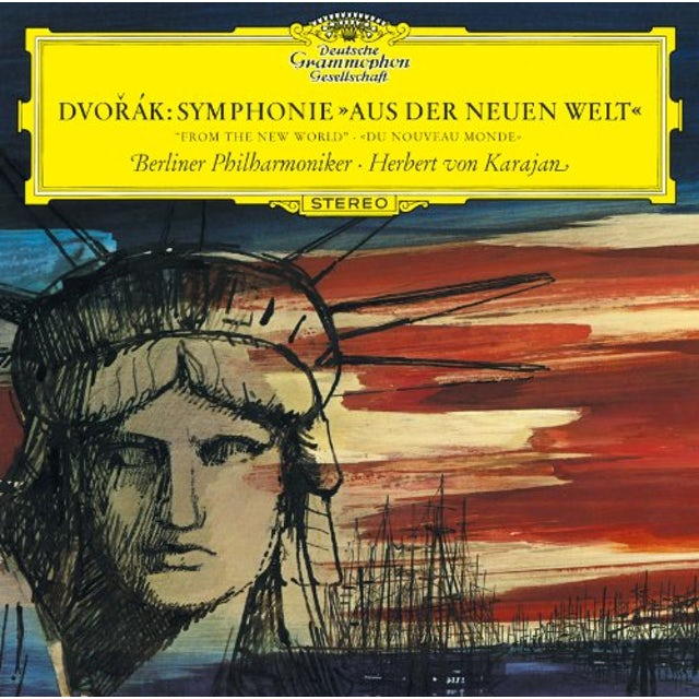 Herbert Von Karajan DVORAK: SYMPHONY NO.9 'FROM THE NEW WORLD CD