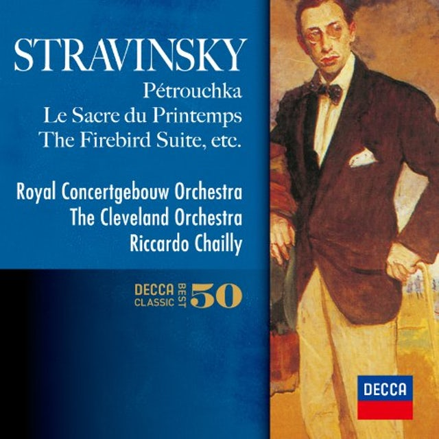 Riccardo Chailly STRAVINSKY: THE FIREBIRD. PETRUSHKA CD