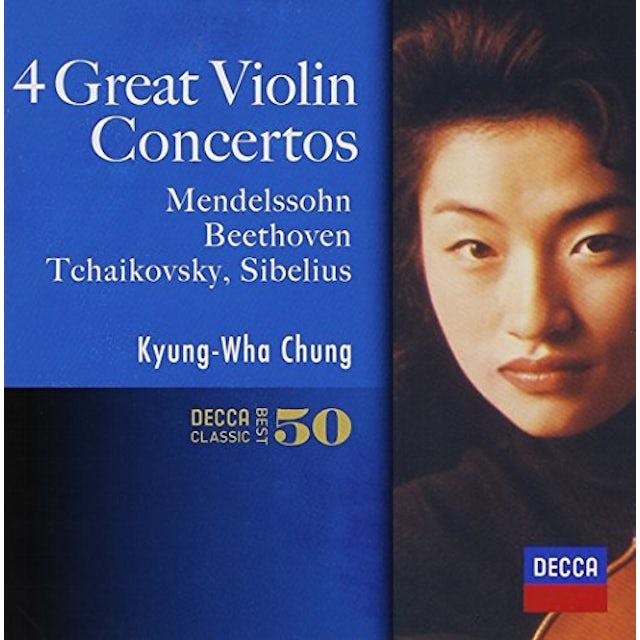 Chung Kyung-Wha FAVORITE VIOLIN CONCERTOS CD
