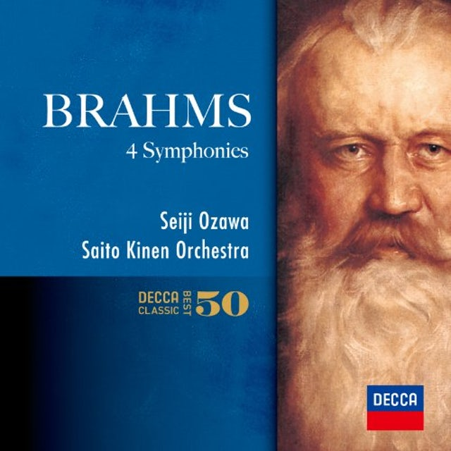 Seiji Ozawa BRAHMS: THE SYMPHONIES CD