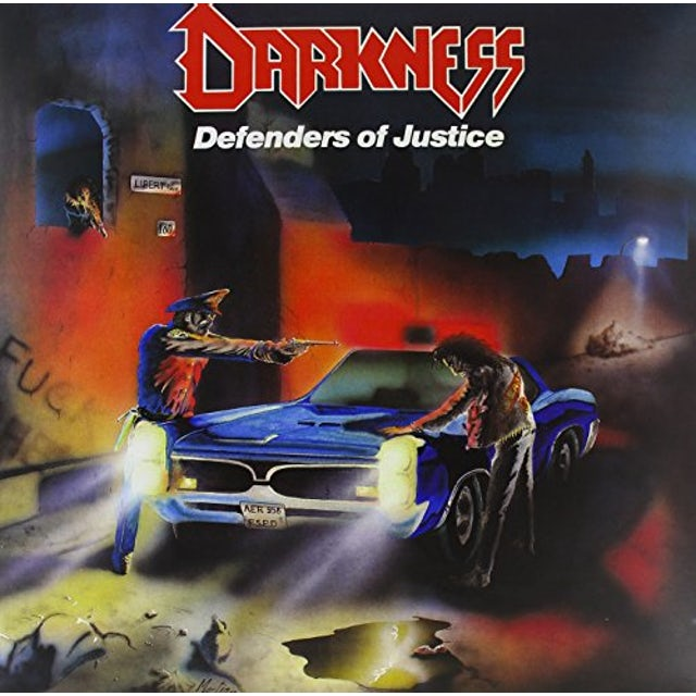 The Darkness DEFENDERS OF JUSTICE Vinyl Record