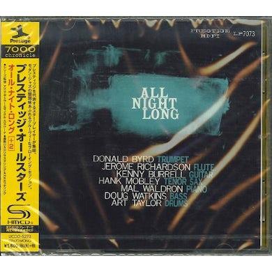 Prestige All Stars ALL NIGHT LONG CD