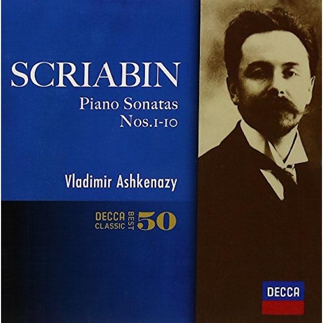 Vladimir Ashkenazy SCRIABIN: PIANO SONATAS CD