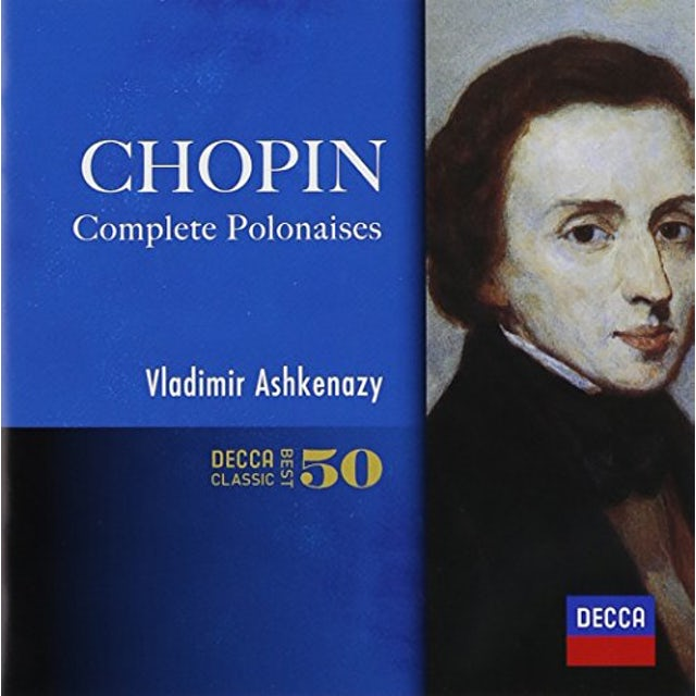 Vladimir Ashkenazy CHOPIN: POLONAISES CD