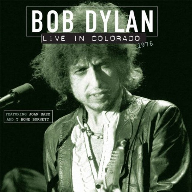 Bob Dylan LIVE IN COLORADO 1976 Vinyl Record - Holland Release