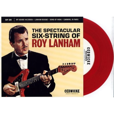 Roy Lanham MY ADOBE HACIENDA / LANHAM BOOGIE / SONG Vinyl Record
