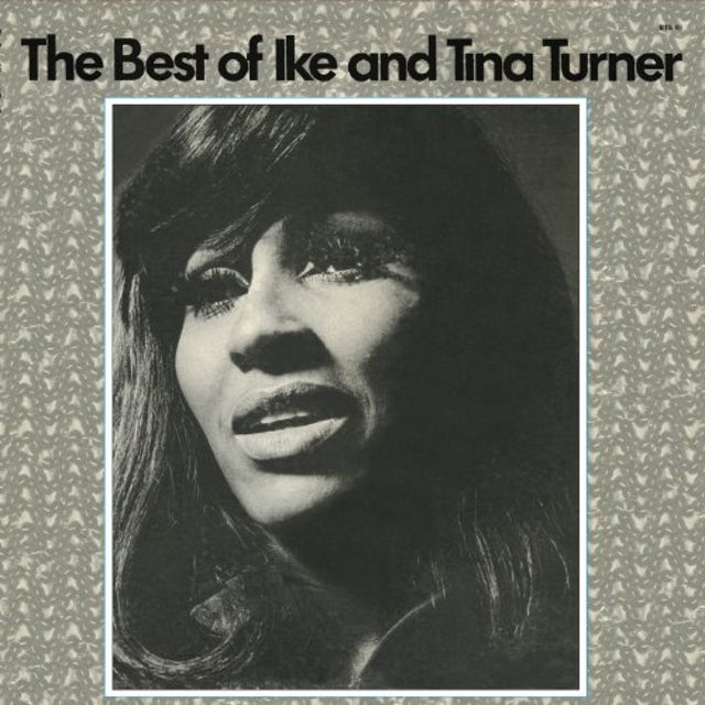 Ike & Tina Turner BEST OF Vinyl Record