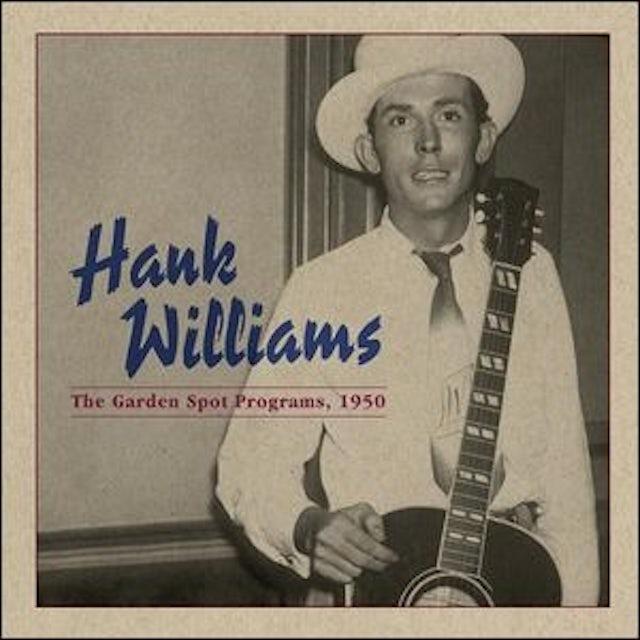 Hank Williams GARDEN SPOT PROGRAMS 1950 Vinyl Record