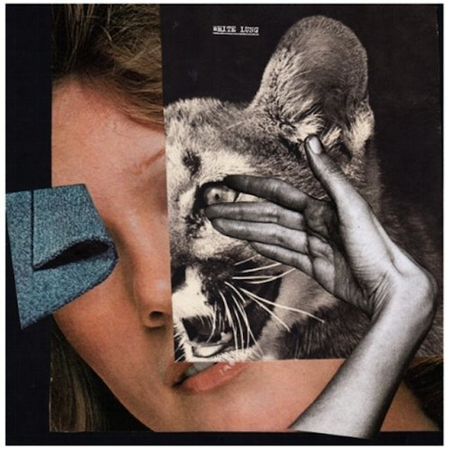 White Lung DROWN WITH THE MONSTER Vinyl Record