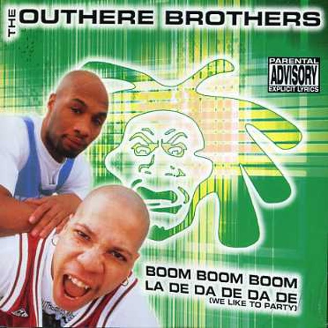 Outhere Brothers BOOM BOOM BOOM/LA DE DA DE DA (WE LIKE TO) CD