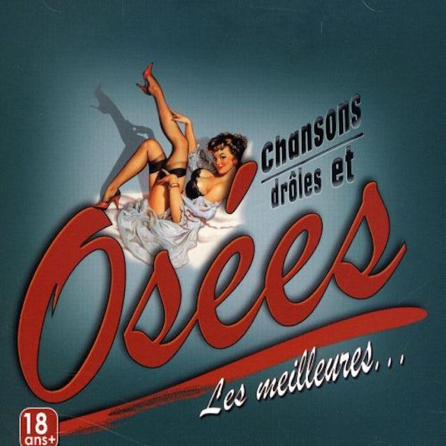 ZZ CHANSONS DROLES ET OSEES (DU QUEBEC) CD