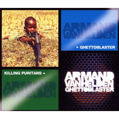 Armand Van Helden KILLING PURITANS/GHETTOBLASTER CD