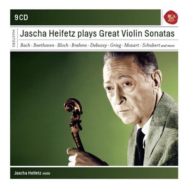 Jascha Heifetz PLAYS SONATAS FOR VIOLIN CD